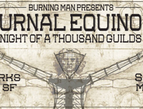 Burning Man Event Facebook Cover