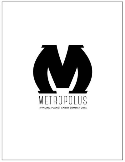Metropolus poster designed and built by National Revue