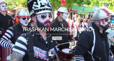 TrashKan Marchink Band website designed and built by National Revue