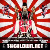 The Klown Social Card poster designed and built by National Revue