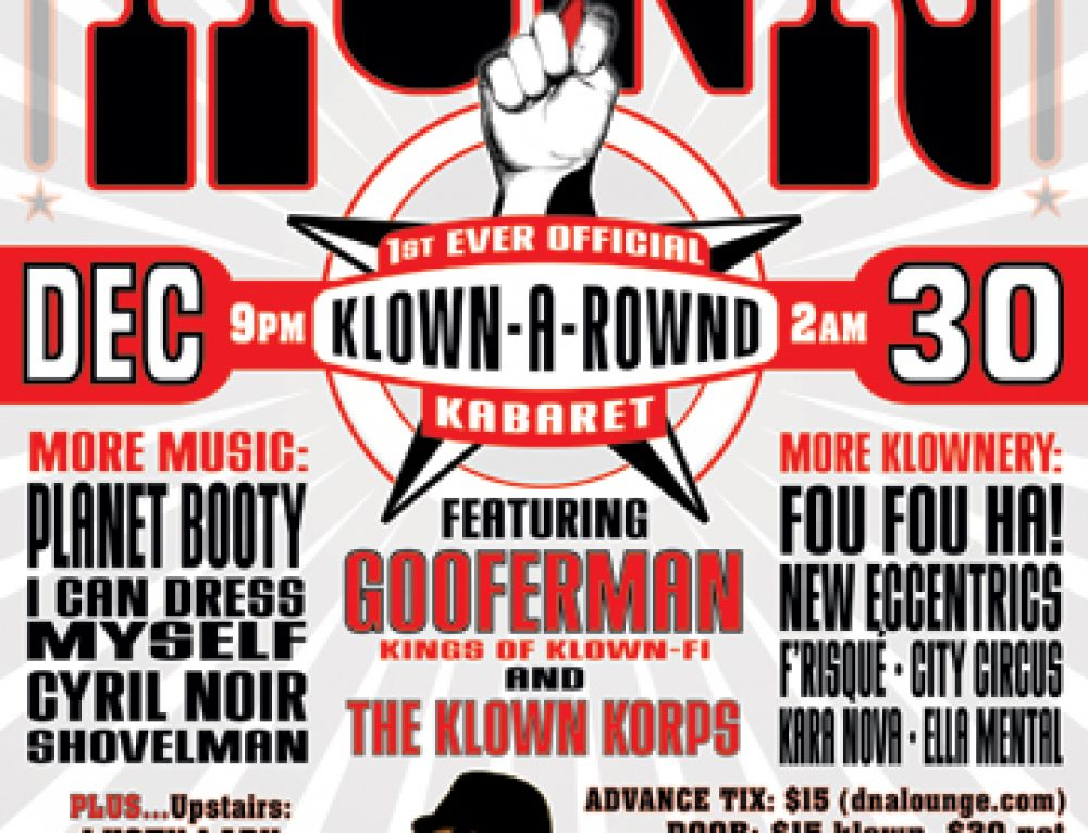 Klown Korps Honk Flyer