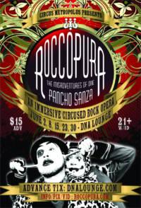 Roccopura Rock Opera Poster