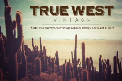 True West Vintage flyer designed and built by National Revue