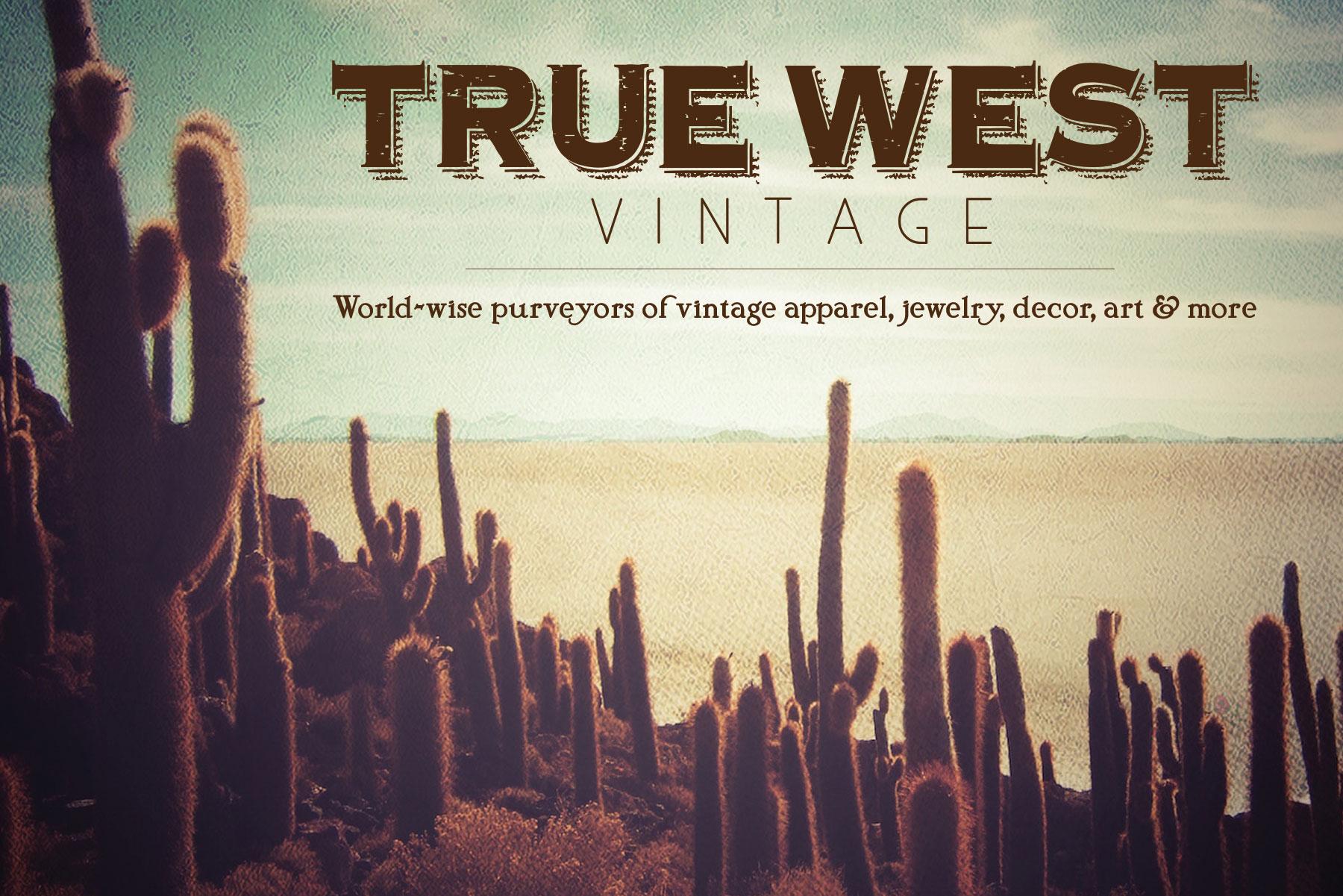 True West Vintage flyer designed and built by National Revue