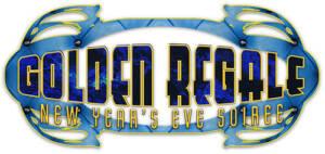 Golden Regale NYE logo by National Revue