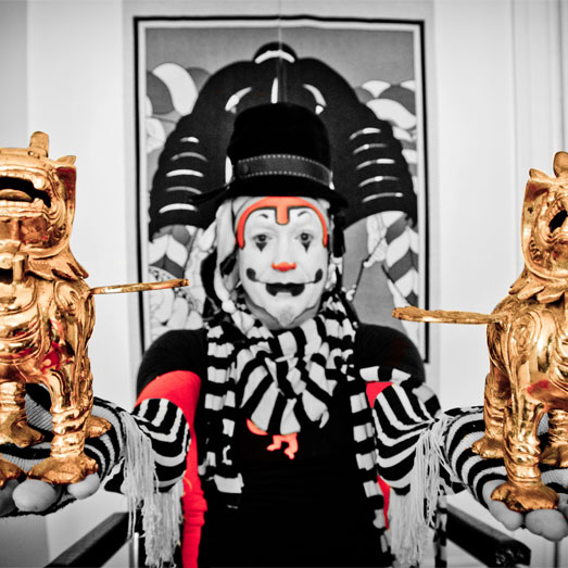 Boenobo (The Klown) of The National Revue