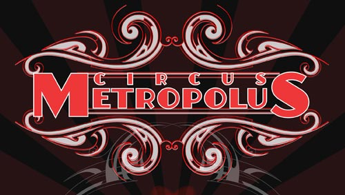 The National Revue - Circus Metropolus logotype