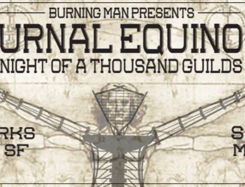 Burning Man Event Facebook Cover