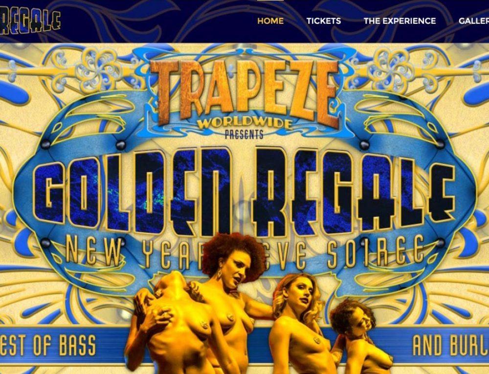 Golden Regale NYE website