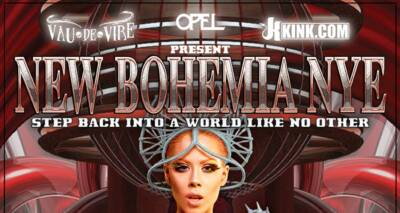 New Bohemia NYE website designed and built by National Revue