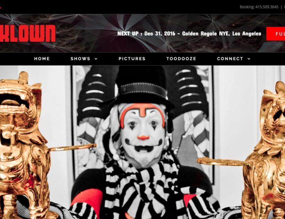 The Klown website