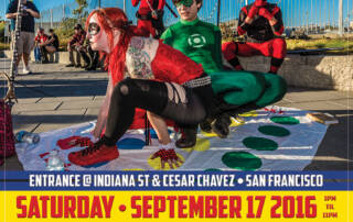 SuperHero Street Fair poster - Designed by The National Revue