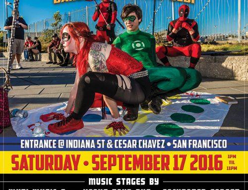 SuperHero Street Fair Poster