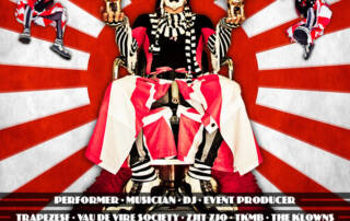 The Klown Social Card poster - Designed by The National Revue