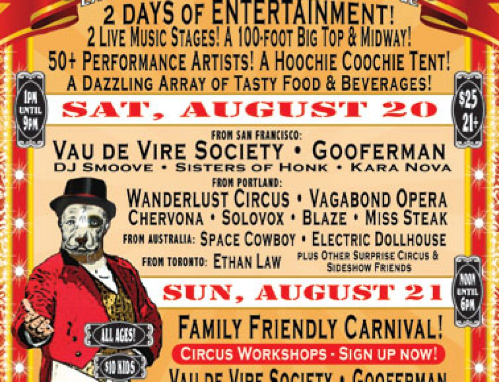 Lagunitas Brewing Co. Beer Circus poster