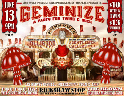Geminize flyer - Designed by The National Revue