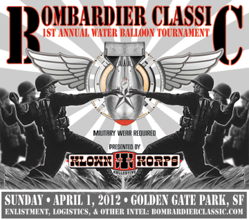 Bombardier Classic flyer - Designed by The National Revue