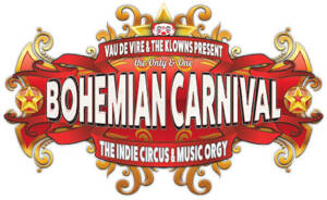 Bohemian Carnival logo by National Revue