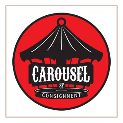 Carousel Consignment SF logo - Designed by The National Revue