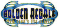 Golden Regale NYE logo - Designed by The National Revue