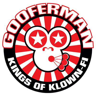Gooferman logo - Designed by The National Revue