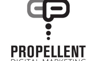 Propellent Creative logo - Designed by The National Revue
