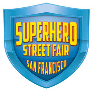 SuperHero Street Fair logo by National Revue