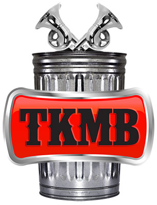 TrashKan Marchink Band logo - Designed by The National Revue