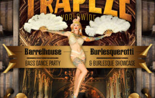 Trapeze Worldwide flyer by The National Revue