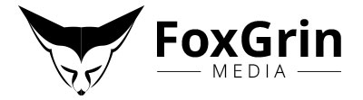 FoxGrin Media logo - Designed by The National Revue