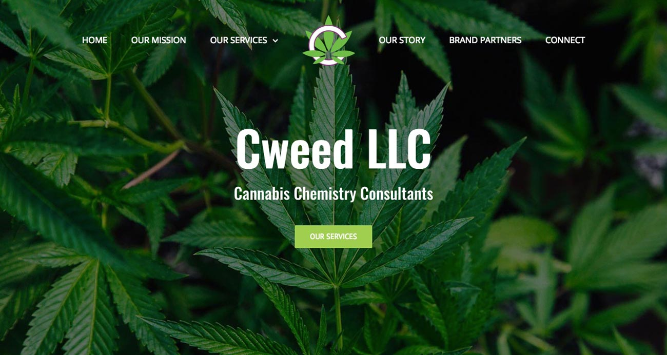 Cweed LLC website designed and developed by The National Revue