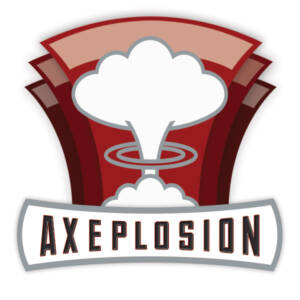 AXEplosion logo by The National Revue